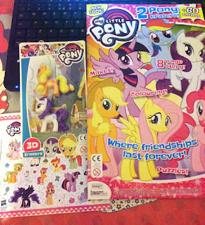 New UK MLP Magazine Comes With Erasers and New Look