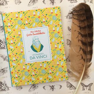 """""""Leonardo Da Vinci"""" - """"Kleine Bibliothek großer Persönlichkeiten"""" , Laurence King Verlag, Sachbuch für Kinder ab 8 Jahren"""