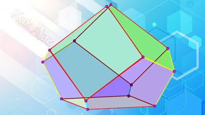 Pembahasan Matematika SMP UN 2017 No. 31 - 35, bangun ruang