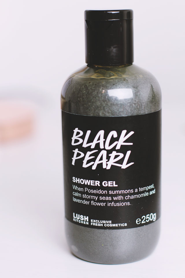 Lush Black Pearl Shower Gel Review