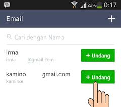 Cara Membuat dan Mengetahui URL ID Line Kita di Android