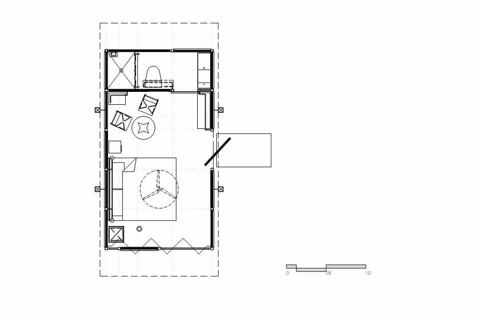 02-Cabin-Floor-Plan-Gracia-Studio-Cabin-Architecture-set-on-a-Hill-www-designstack-co