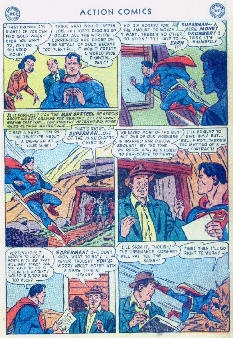 Read online Action Comics (1938) comic -  Issue #176 - 7