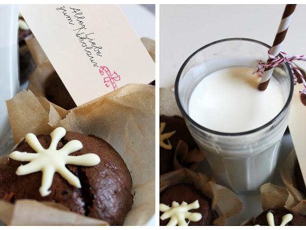 Winterwunder: Fluffige Schoko-Muffins ♥