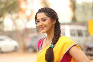 Actress Mehreen Latest Stills in Half Saree at Krishna Gadi Veera Prema Gaadha Press Meet 0033