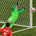 Goles - Suecia 0-2 Inglaterra
