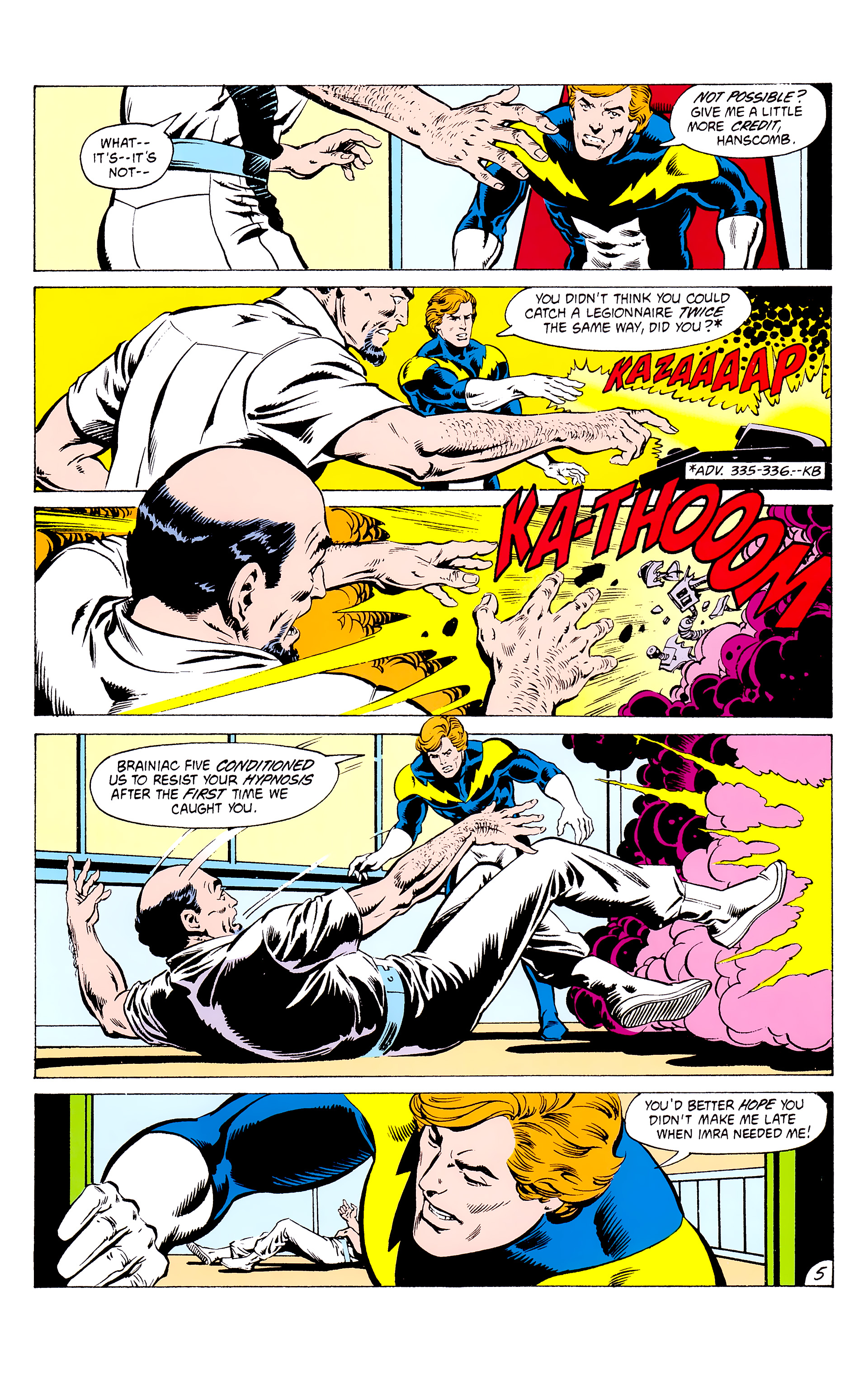 Legion of Super-Heroes (1980) _Annual_3 Page 5