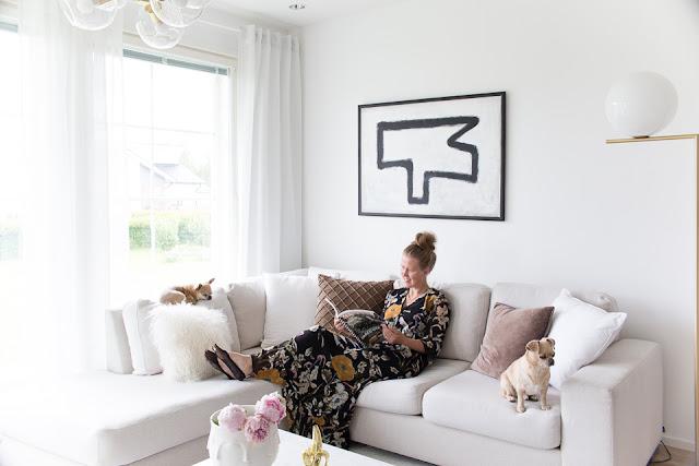 Villa H, oma tyyli, chihuahua, olohuoneen kesäilme, sisustus