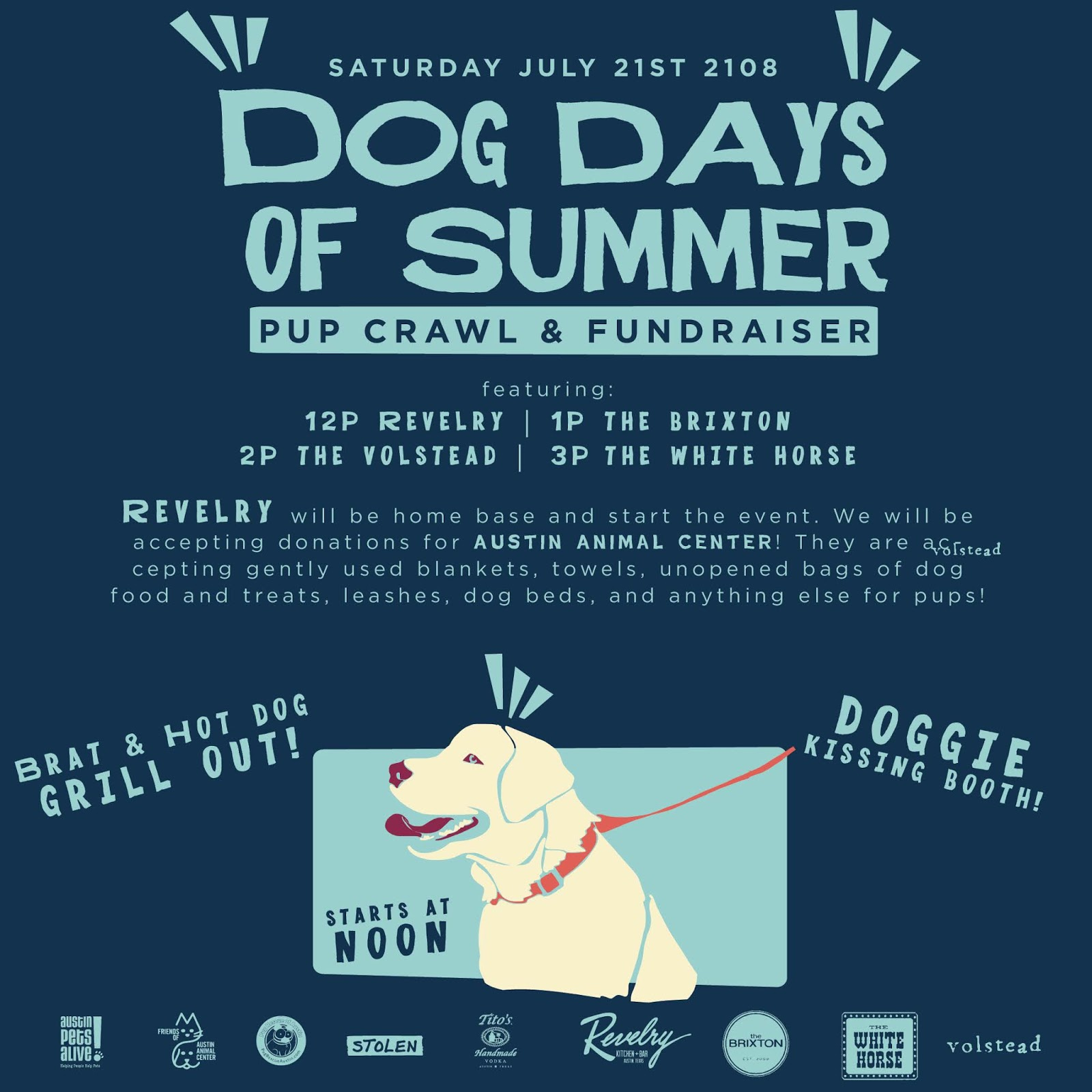 Dog Days of Summer Pup Crawl & Fundraiser | Sushi in the ATX