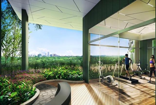 Phòng tập Gym hiện tại với thiết bị máy móc tân tiến, view đẹp