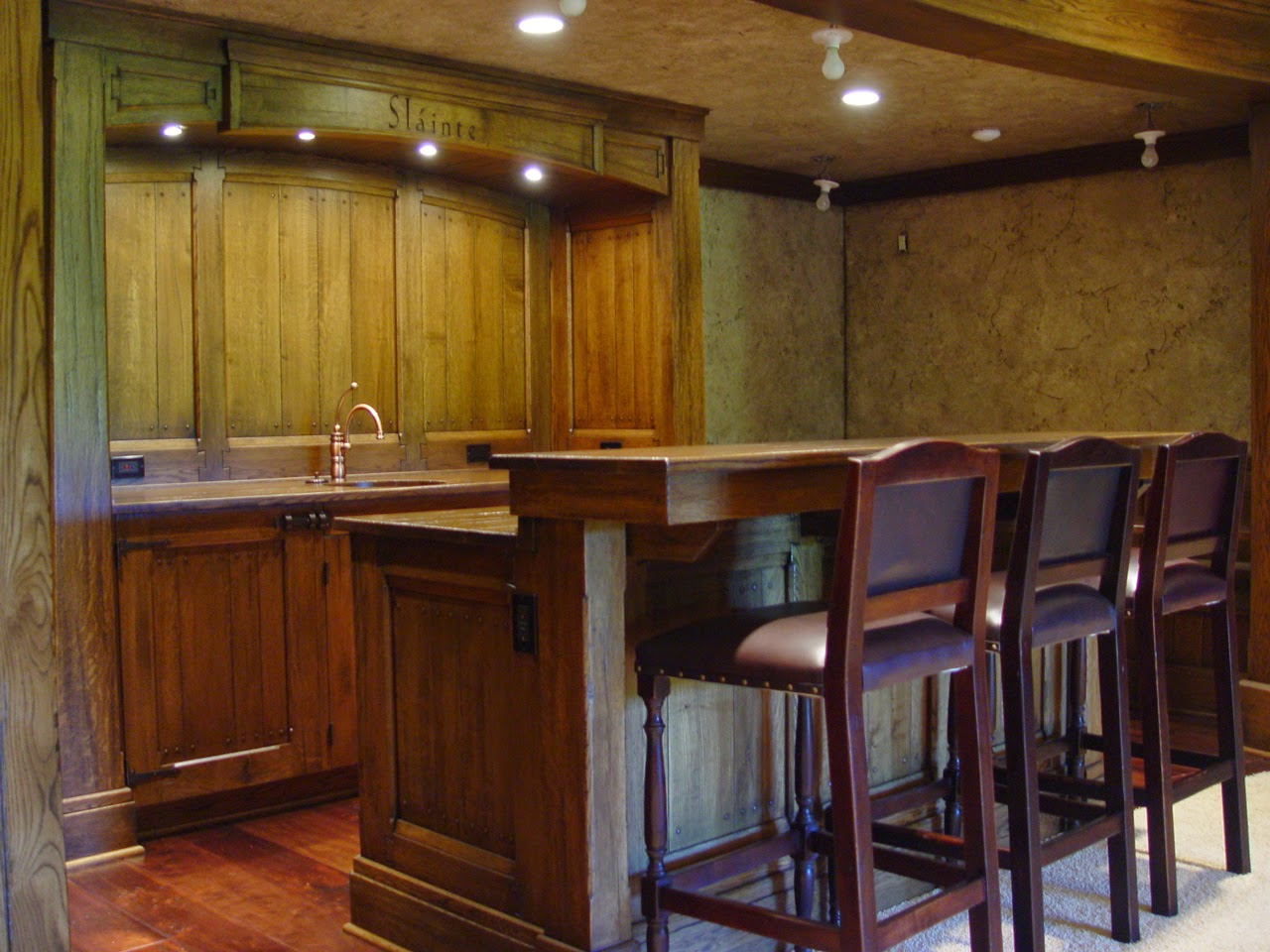 A Built In Bar Can Provide All Of The Home Fun Without Increasing Footprint