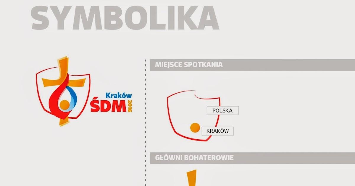 Mapa Y Ubicación Del Logo Azul Mapa Logotipo De: Presentado El Logotipo Oficial De La JMJ De Cracovia 2016
