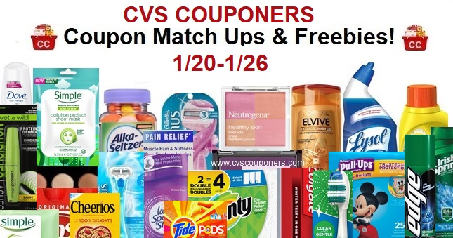 http://www.cvscouponers.com/2019/01/cvs-coupon-matchup-deals-120-126.html