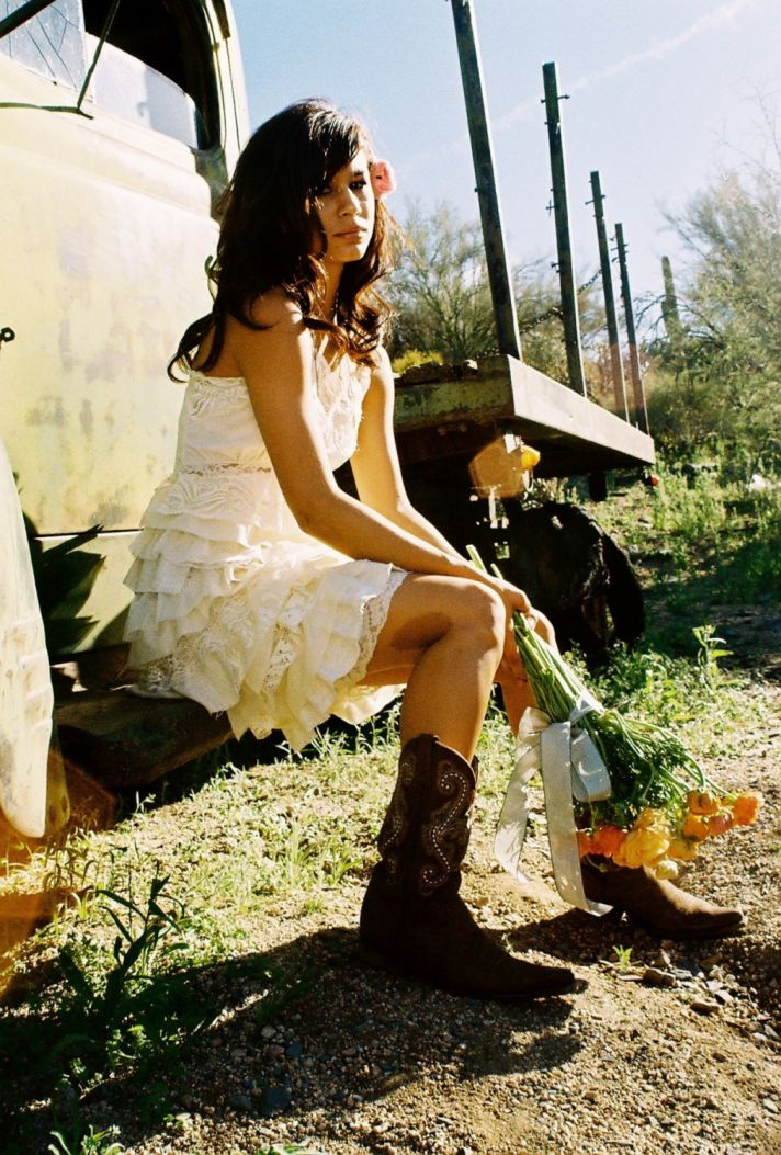 country wedding dresses with cowboy boots chic cow chic 3129