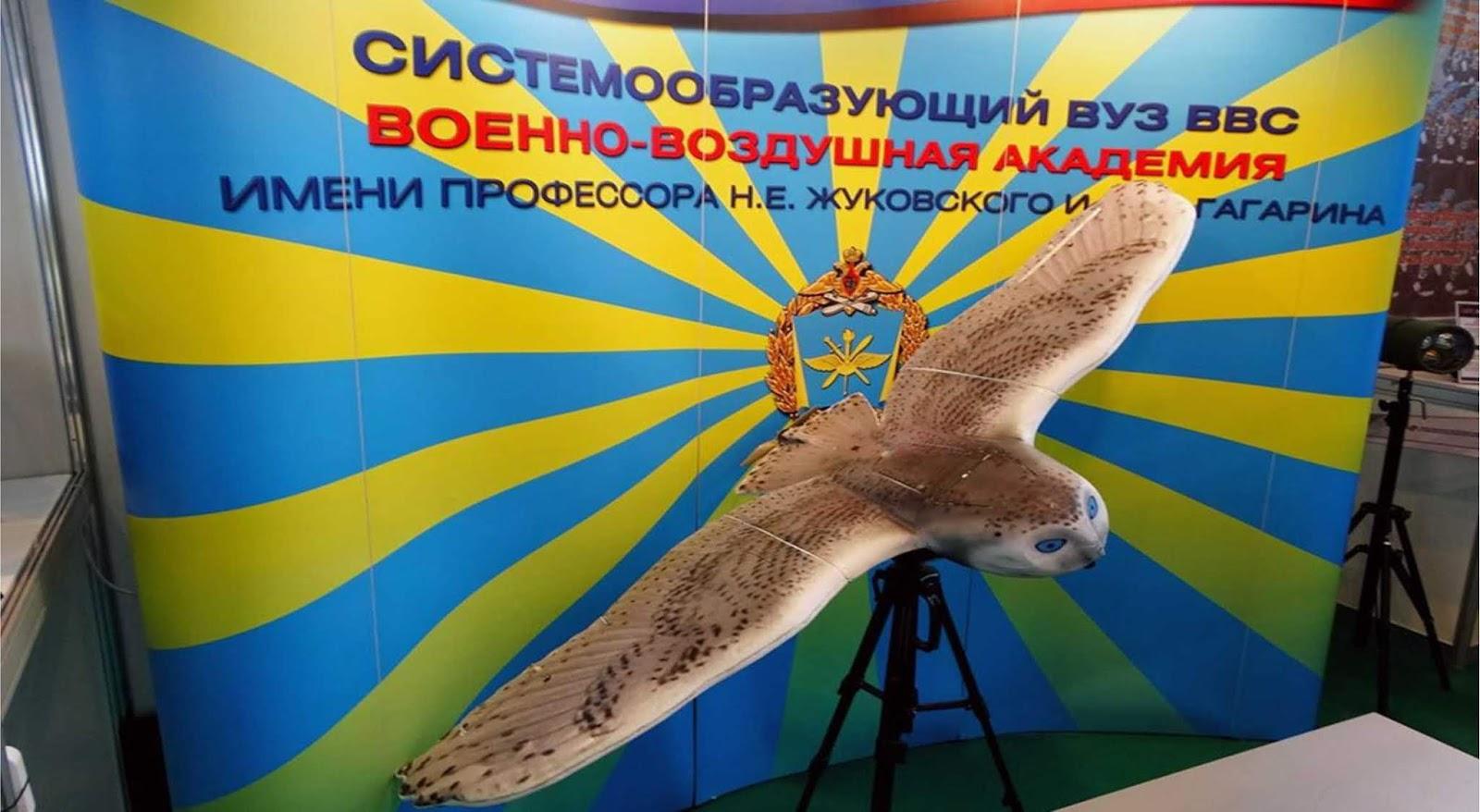 Biomorfik Burung Hantu Rusia akan berburu tank