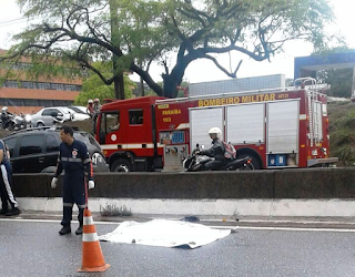 Motociclista morre em acidente com caminhão na BR 230