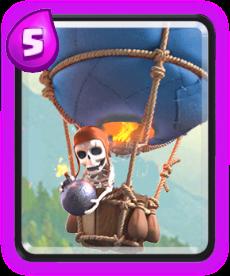 Balão de Clash Royale