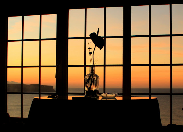Ventana para contemplar la puesta de sol