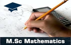 MSC Mathematics