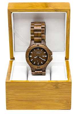 Enter the Woodie Specs Walnut Wood Watch Father's Day Giveaway. Ends 6/13