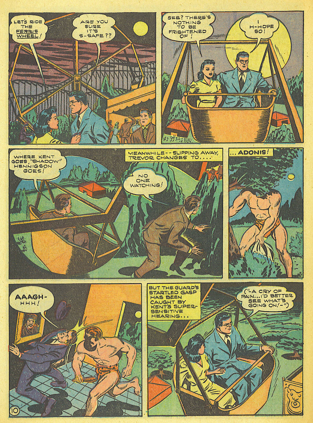 Read online Action Comics (1938) comic -  Issue #58 - 11