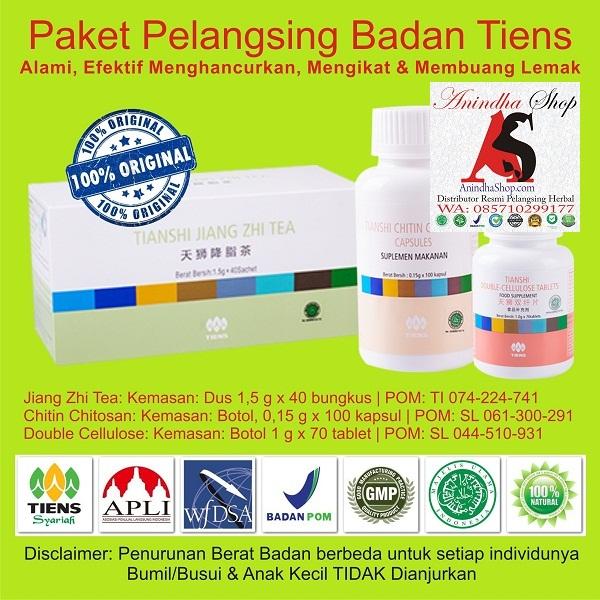 Suplemen Herbal Pelangsing Badan