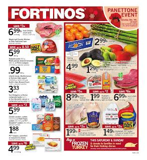 Fortinos Flyer valid Desember 14 - 20, 2017 Save Big