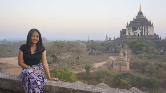 Exploring Bagan temples in Myanmar