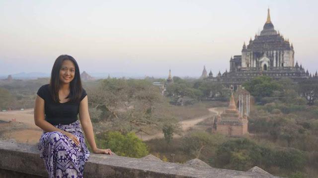 Exploring Bagan temples in Myanmar