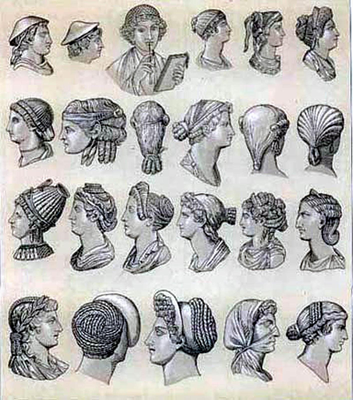 Sensacional peinados de romana Fotos de tendencias de color de pelo - antrophistoria: Los peinados en la antigua Roma.