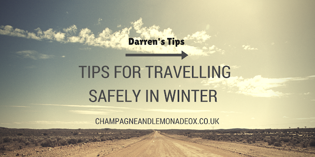 tips for travelling safely in the winter