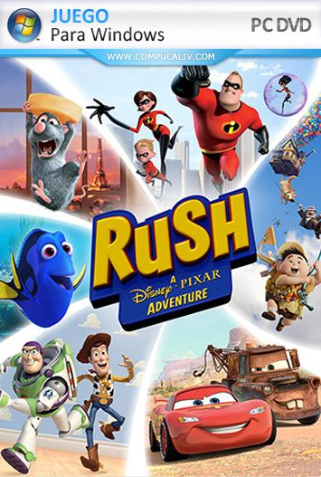 Rush: A Disney Pixar Adventure (2017) PC Full Español