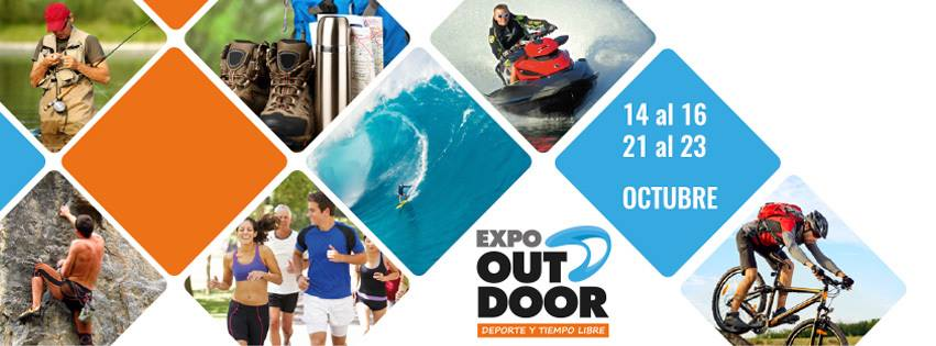 Expo Outdoor Deporte y tiempo libre (Rural del Prado - Montevideo, 14a16 y 21a23/oct/2016)