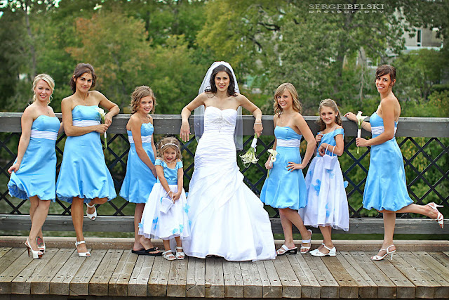 Blue Bridesmaid Dresses (45) ~ Violet Fashion Art
