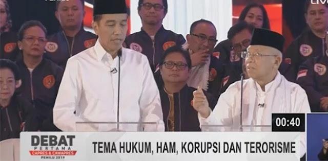 Ma'ruf Amin Terus Diam, Sempat Menolak Bicara ketika Diminta Jokowi