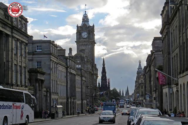 Escocia, Edimburgo, Princess Street