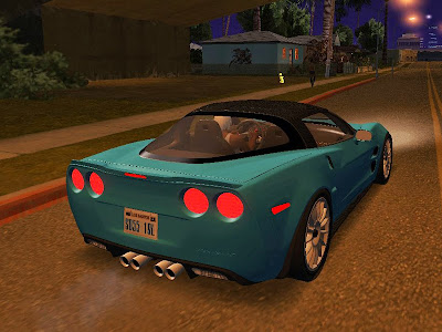 Chevrolet Corvette ZR1 Black Revel para GTA San Andreas