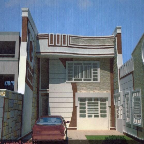 : ديكورات واجهات بيوت صغيرة : ديكور