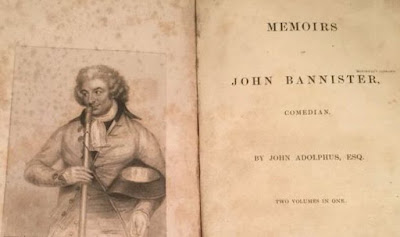 Memoirs of Jack Bannister page de garde