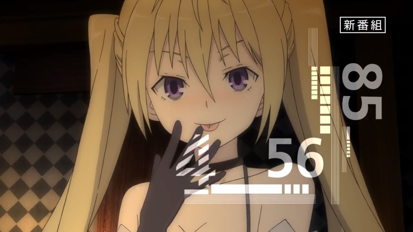 Tercer Vídeo Promocional Del Anime Trinity Seven 7 Nin No