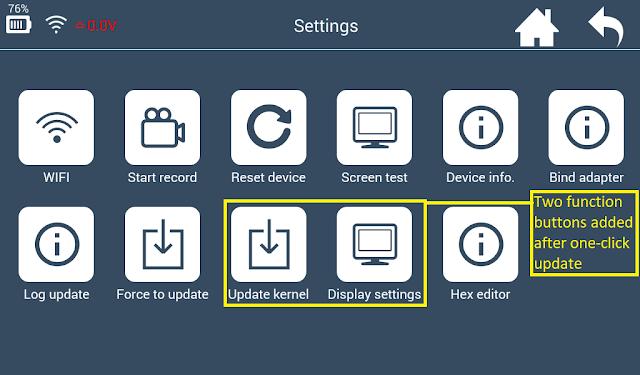 How to update Lonsdor K518ise Key programmer Hibernation Function-4