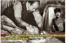 "Kisah Tragis Di Akhir Hayat, Sang Pendiri Turki  "" Mustafa Kemal At-Taturk"""