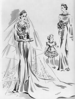 The Royal Order Of Sartorial Splendor Wedding Wednesday Alice Ss Gloucester S Gown