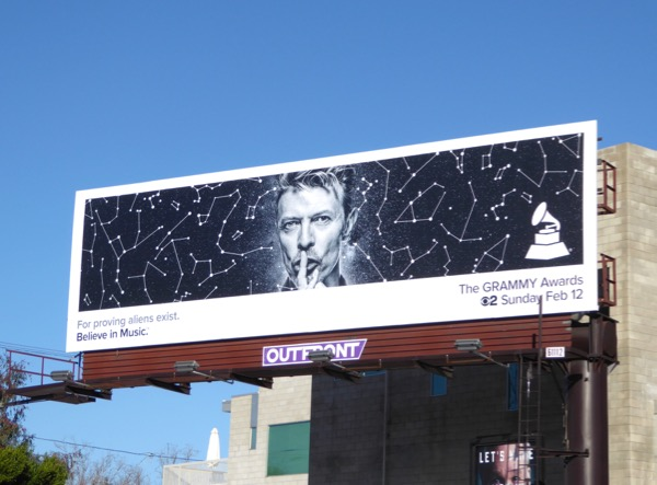 David Bowie 2017 Grammys billboard