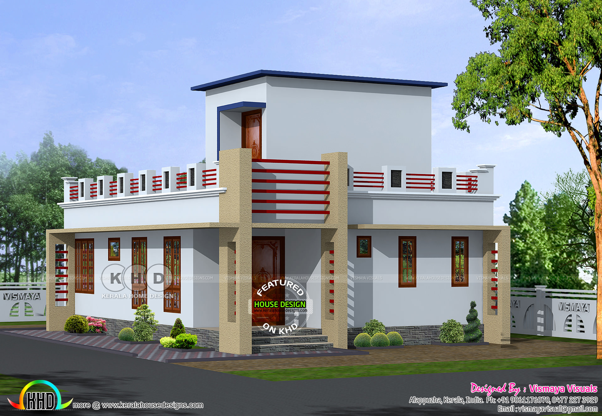 800 Sq Ft Small Kerala Home Plan Kerala Home Design And Floor Plans