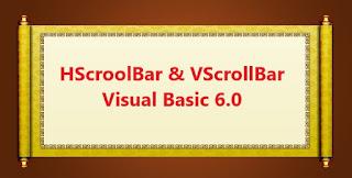 HScroolBar dan VScrollBar Pada Visual Basic