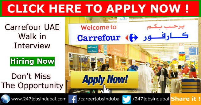 carrefour walk in interview