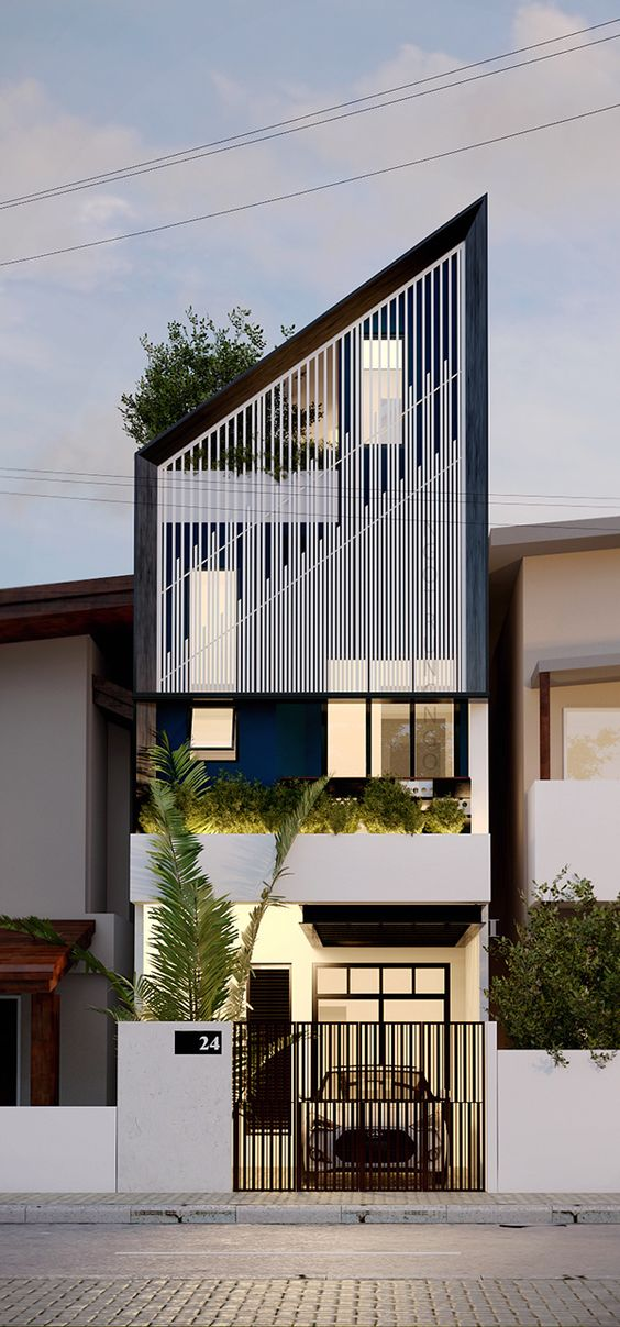 Contemporary Residence Bahrain House Architected By Moriq: Contoh CV, Portofolio Untuk Arsitek Junior Dan Desain