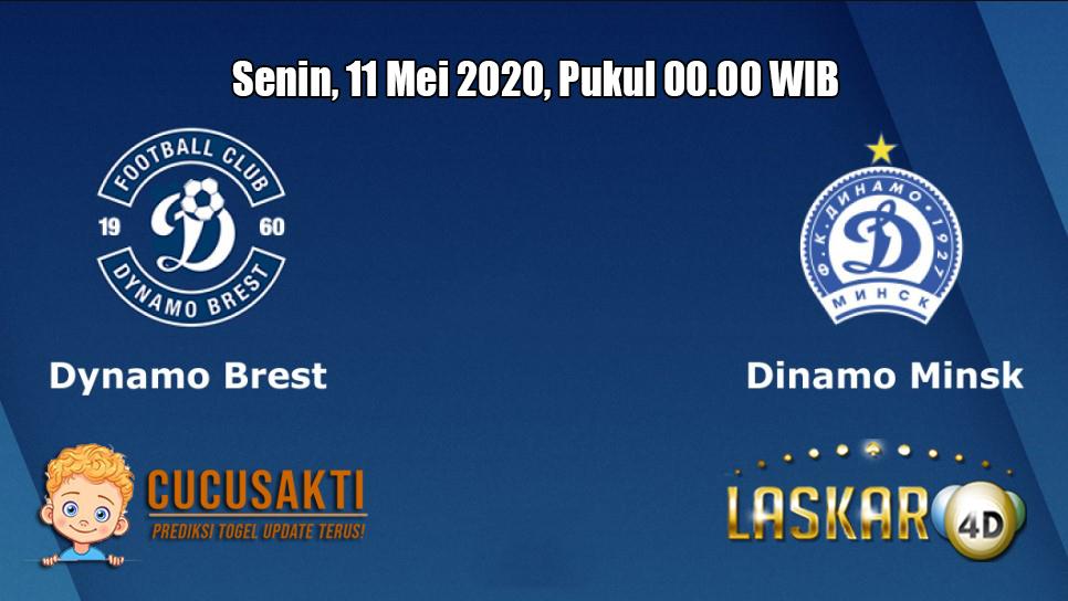 Prediksi Dynamo Brest VS Dinamo Minsk 11 Mei 2020