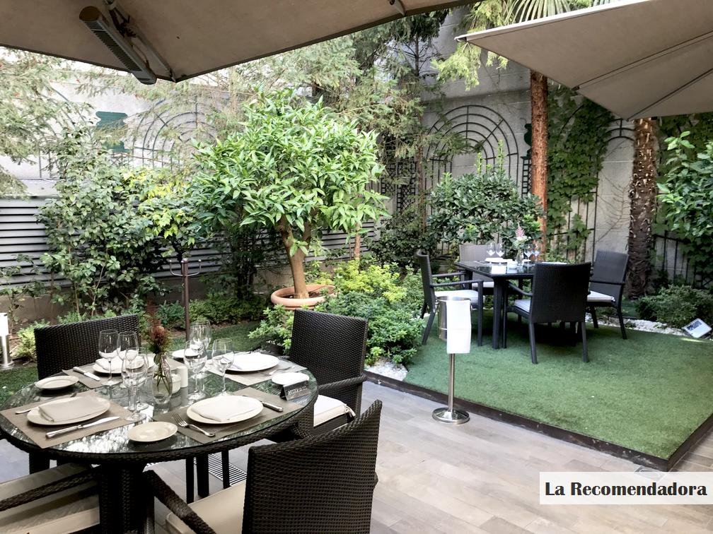 La recomendadora - Restaurante el jardin de recoletos ...